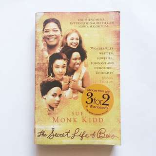 Book: The Secret Life Of Bees by Sue Monk Kidd