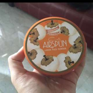 AIRSPUN LOOSE FACE POWDER IN TRANSLUCENT EXTRA COVERAGE