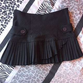 Forever 21 Mini Skirt With Pleats