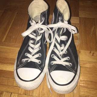 Black And White All Stars Converse