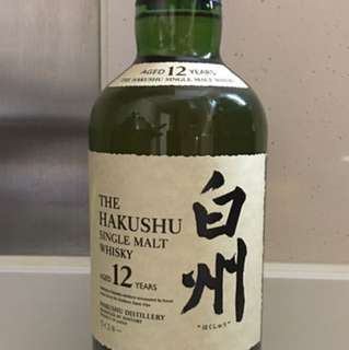 Hakushu 12 Years 白州12 無盒 Whisky 威士忌