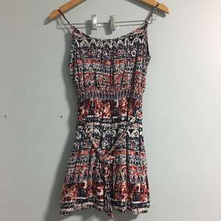 F21 Patterned Summer Dress