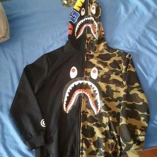 Bape Shark Hoodie Rep. Brand New Size Small