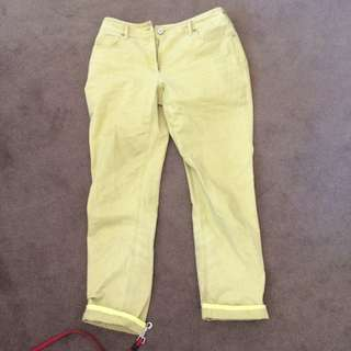 Mustard Vintage Jeans