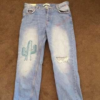 ZARA Vintage Denim Jeans