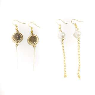 gold series earring
