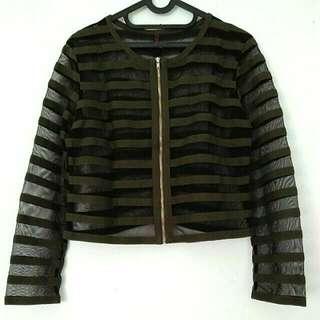 Army Zipper Crop