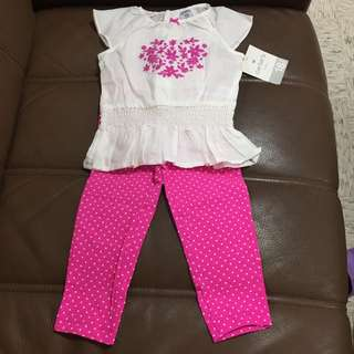 💕carter's baby 女童套裝組 全新(無拆售)