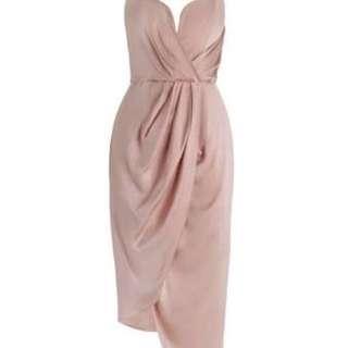 Zimmerman Silk Plunge Long Dress RRP $450