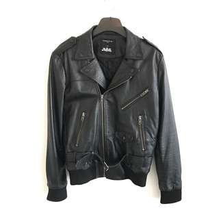 SURFACE TO AIR x JUSTICE GASPARD LEATHER JACKET