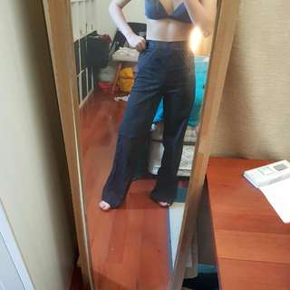 Black Highwaisted Pants