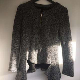 Womens Size 10 Knitted Jacket