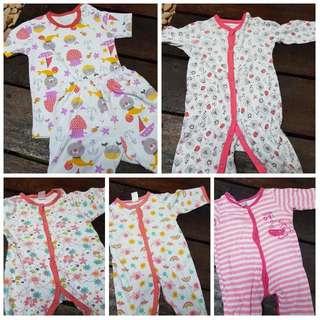 2nd Set Of 5, Baju Tidur Bayi Above 6y