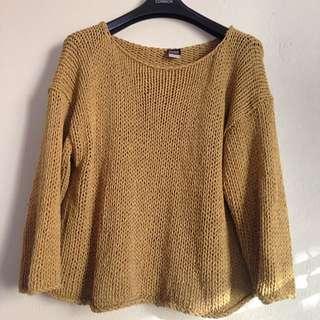Eileen Fisher Mustard Knit