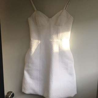 Kookai Size 36 White Dress Brand New Tags Attached