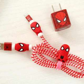 Spiderman Charger Protector