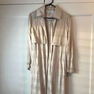 Forever New S6 Light Fabric Trench