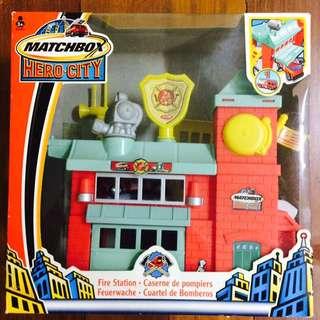 Matchbox Hero City Fire Station