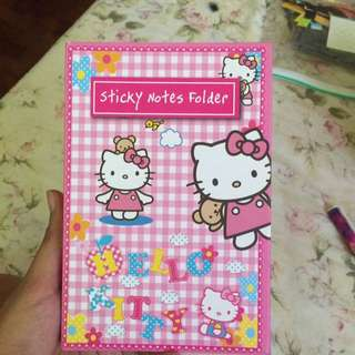 Hello Kitty Sticky Note