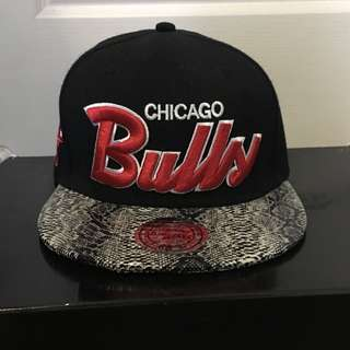Chicago Bulls StrapBack Leather