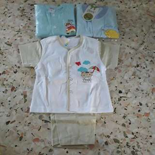 Baby Clothes Set Size M 3set