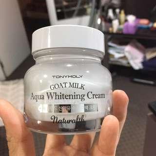 Tony Moly Goat Milk Aqua Whitening Cream