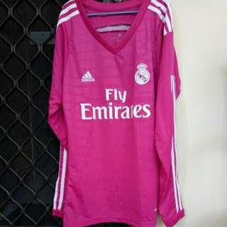 ((REPRICE)) Jersey Real Madrid Pink Cewek Lengan Panjang & Bayer Munchen Cowok Grade Ori *NO FREE ONGKIR*
