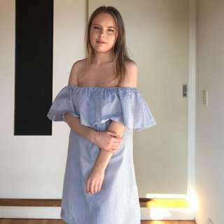 MINKPINK Off Shoulder Sun Dress