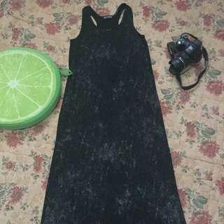Racer Back Long Dress