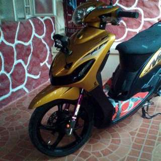 Mio Sporty Boss 2013 GOLD Limited edition