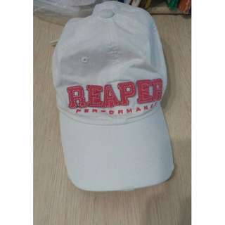 white brand new cap