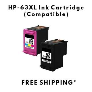 HP-63XL Ink Cartridge (Remanufactured)