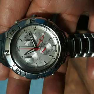Nautica Steel Chronograph Stainless Steel Original Watch