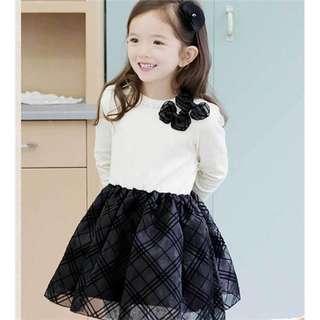 Long sleeve dress for kid