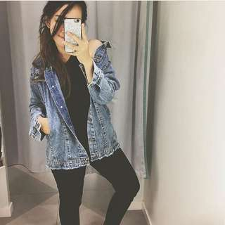 OVERSIZED THICK DENIM BY BERSKHA