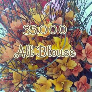sale.. all blouse 35 K
