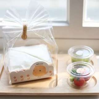 BNIB Hello Chick Dessert Box With Bag