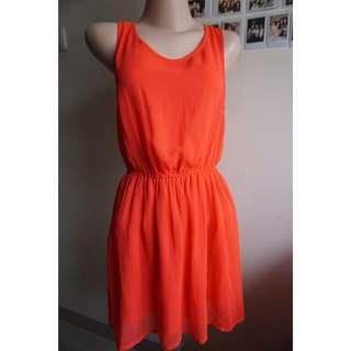 H&M- Neon Dress