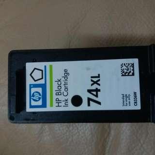 HP 74 XL 黑色加大碼墨