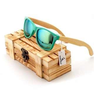 Polarized Bamboo Handmade Sunglasses Fashionable Xmas Best Gift Shades