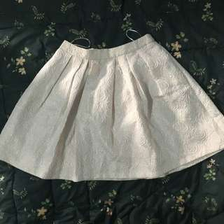 Leaf Flare Skirt