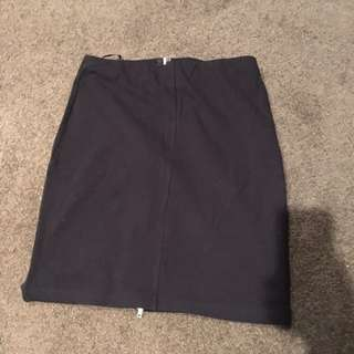 Black Skirt Size Small