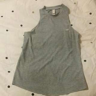 Lee High Neck Fitted Singlet Sz 6-10