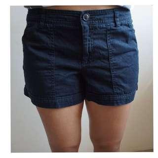 MANGO- Black Shorts