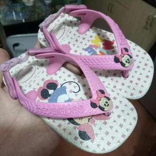 Minnie Mouse Havaianas Baby Sandals