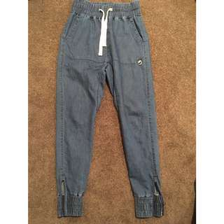 Men's Denim Chinos Size 28