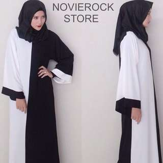 Unworn Novierock Dress Black | Grey