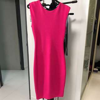 Hot Pink Dress For Cheap Sale