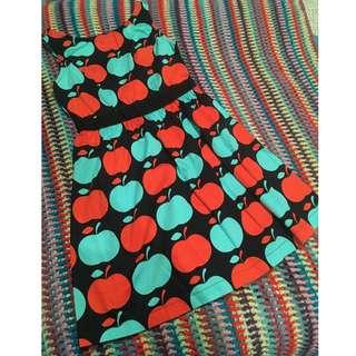 Size 8 Dangerfield Rockabilly Dress