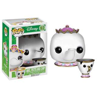 Mrs Potts And Chip Pop Vinyl